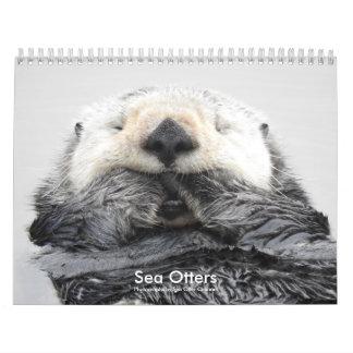 Sea Otter Channel Calendar #2