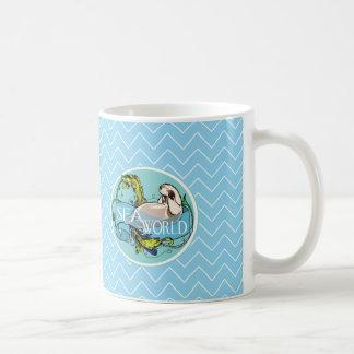 Sea otter-sea world coffee mug