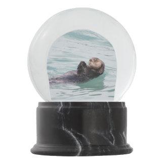 Sea Otter Snow Globe