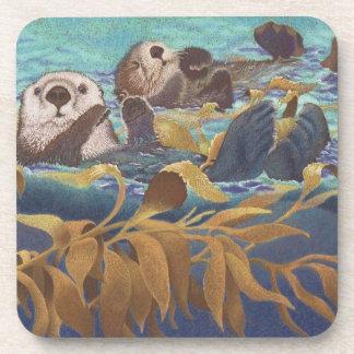 Sea Otters Coaster