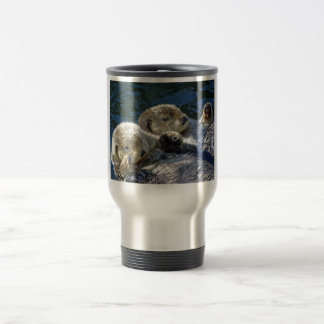 Sea-otters Travel Mug