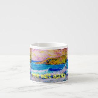 sea salt spray Art Espresso Mug