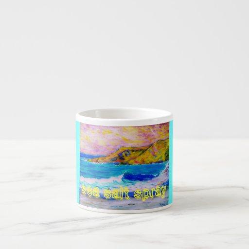 sea salt spray espresso mugs