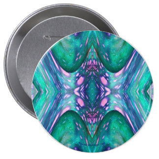 Sea Serpent Abstract 10 Cm Round Badge
