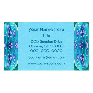 Sea Serpent Abstract Business Card Template