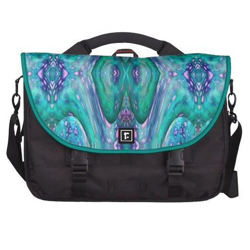 Sea Serpent Abstract Laptop Bag