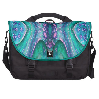 Sea Serpent Abstract Commuter Bags