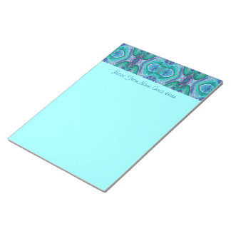 Sea Serpent Abstract Memo Notepads