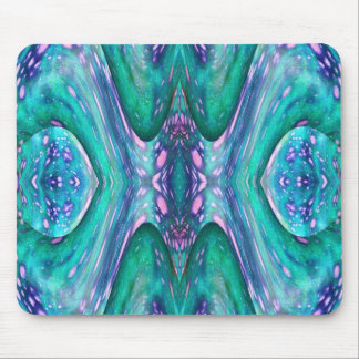 Sea Serpent Abstract Mouse Pad