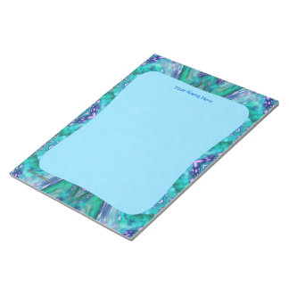 Sea Serpent Abstract Notepads