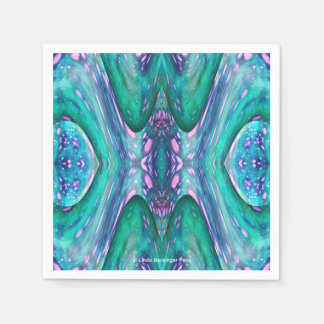 Sea Serpent Abstract Disposable Napkins