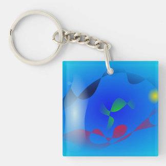 Sea Serpent Acrylic Keychain