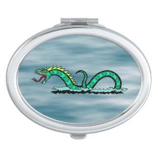 Sea Serpent Compact Mirror