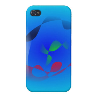 Sea Serpent Cover For iPhone 4