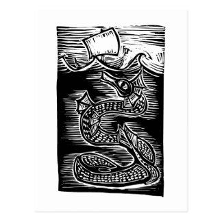 Sea Serpent Post Card