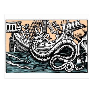 Sea Serpent Postcard