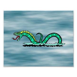 Sea Serpent Print Photograph