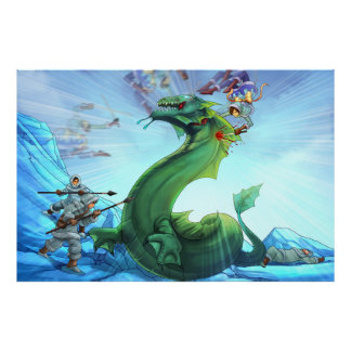 Sea Serpent Slaughter   Maya TAOFEWA Manga Poster