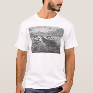 sea serpents on white T-Shirt