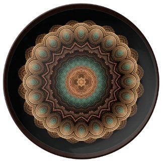 Sea Shell Mandala Porcelain Decor Plate
