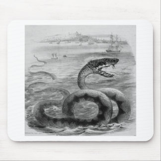 Sea Snake/Serpent Mouse Pad
