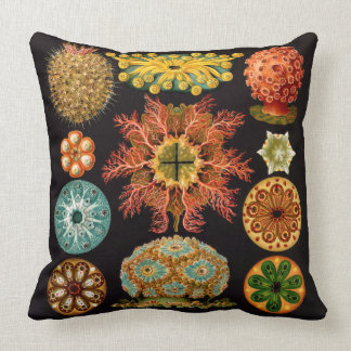 Sea Squirt Square Throw Pillow