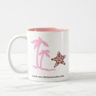 Sea Stars for Cancer Two-Tone Coffee Mug