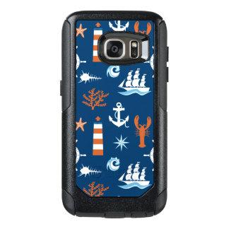 Sea Theme Pattern 1 OtterBox Samsung Galaxy S7 Case