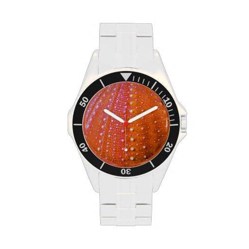 Sea Urchin-Coral Wrist Watch