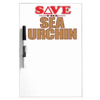 Sea Urchin Save Dry Erase Whiteboard