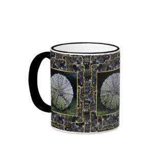 Sea Urchin Shell, Unalaska Island Ringer Mug