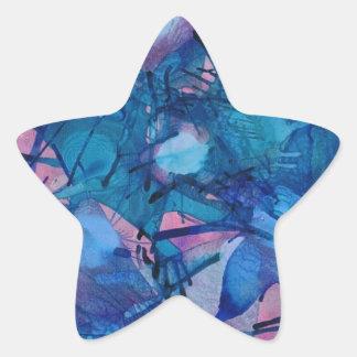 Sea Urchins Star Sticker