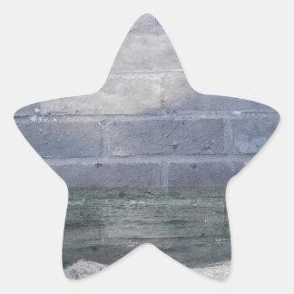 sea_wall_001 star sticker