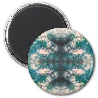 Seafoam Pattern Magnet