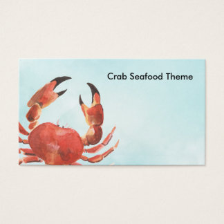 Seafood Crab Business Card