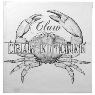 Seafood Lovers Cottage style napkins