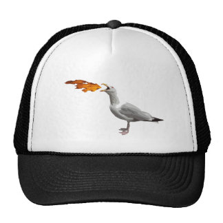 Seagull Breathing Fire Cap
