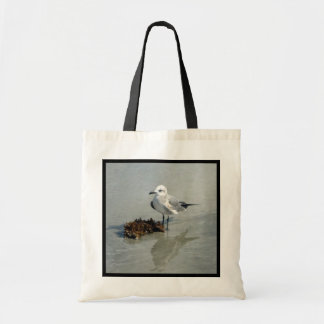 Seagull with Seaweed Budget Tote Bag