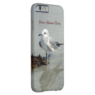 Seagull with Seaweed Custom Barely There iPhone 6 Case