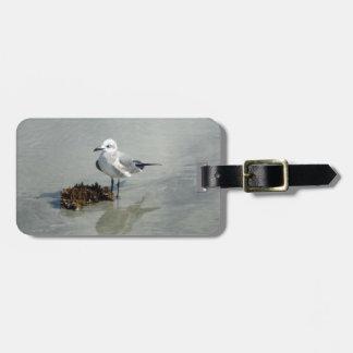 Seagull with Seaweed Custom Luggage Tag
