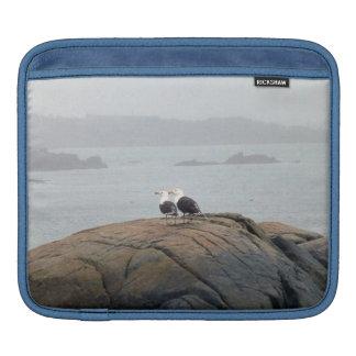 Seagulls in Kennebunkport, Maine iPad Sleeve