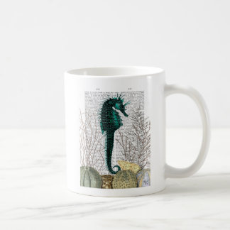 SeaHorse and Sea Urchins Coffee Mug