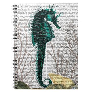 SeaHorse and Sea Urchins Note Books