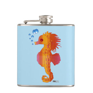 Seahorse Bubble Baby Hip Flask