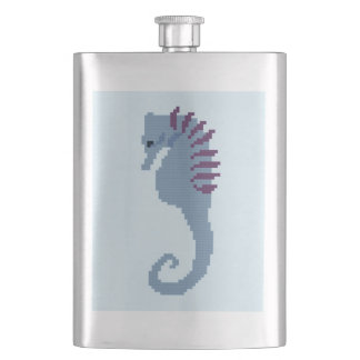 Seahorse Hip Flask