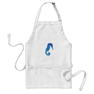 Seahorse in the Ocean Standard Apron