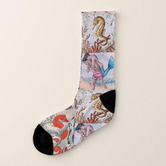 Seahorses, Mermen, & Men  Make for Mythic Feet 1