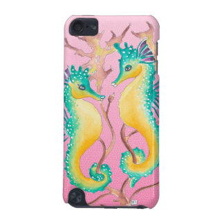 seahorses pink stained glass iPod touch 5G case