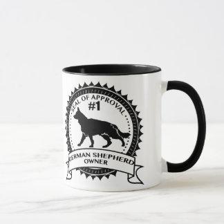 Seal of Approval #1 German Shepherd Owner. Mug