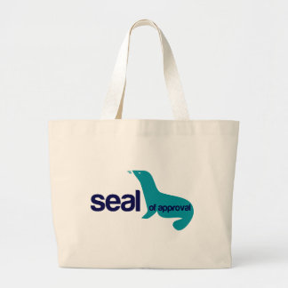 Seal Of Approval Canvas Bag